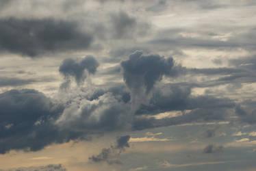 Strange clouds by thdf