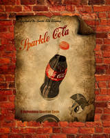 Sparkle Cola Poster by dan232323