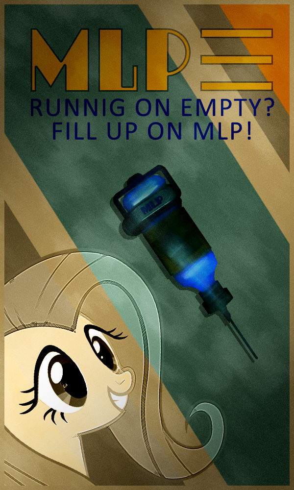 Bioshock: MLP Injector Poster by dan232323