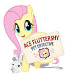 Ace Fluttershy Pet Detective