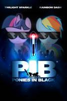 PIB Ponies in Black by dan232323