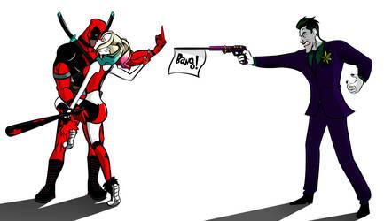 Harley Quinn X DeadPool