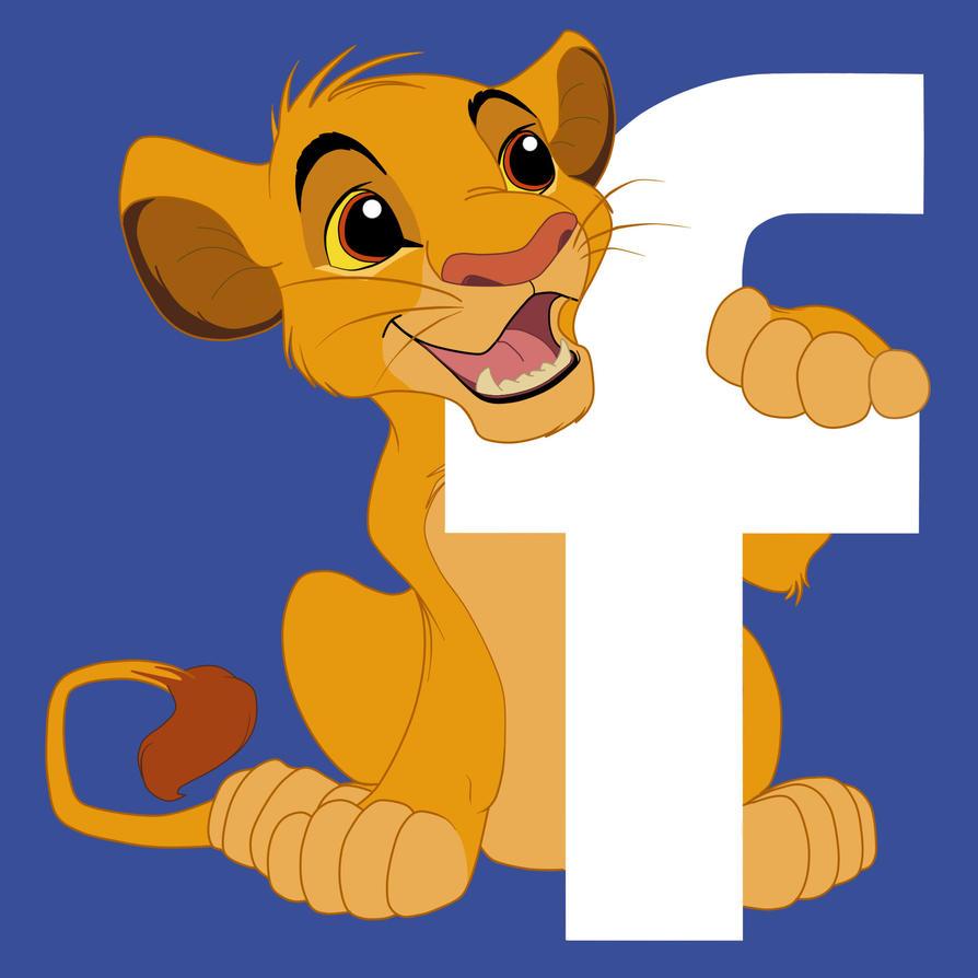 Simba Facebook Icon by Sanaakota