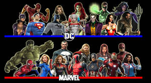 DC Comics/Marvel