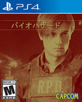 Resident Evil 2 (Leon PS4 Game Art) by x-Moonlight-Dreams-x