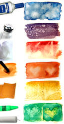 Watercolour Texture Techniques by hatefueled