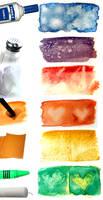 Watercolour Texture Techniques