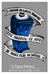 Dr Who Blue