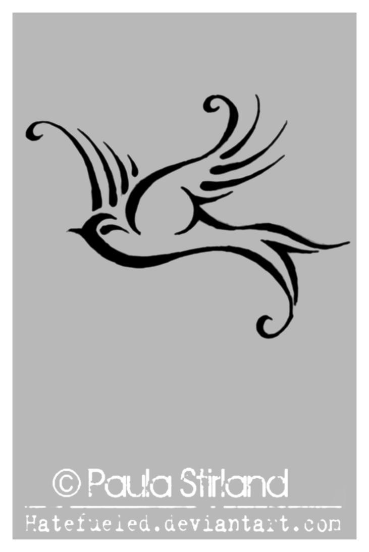 tribal dove by hatefueled on deviantart. Black Bedroom Furniture Sets. Home Design Ideas