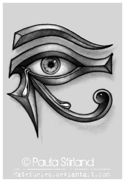 Crying Eye of Ra by hatefueled on DeviantArt