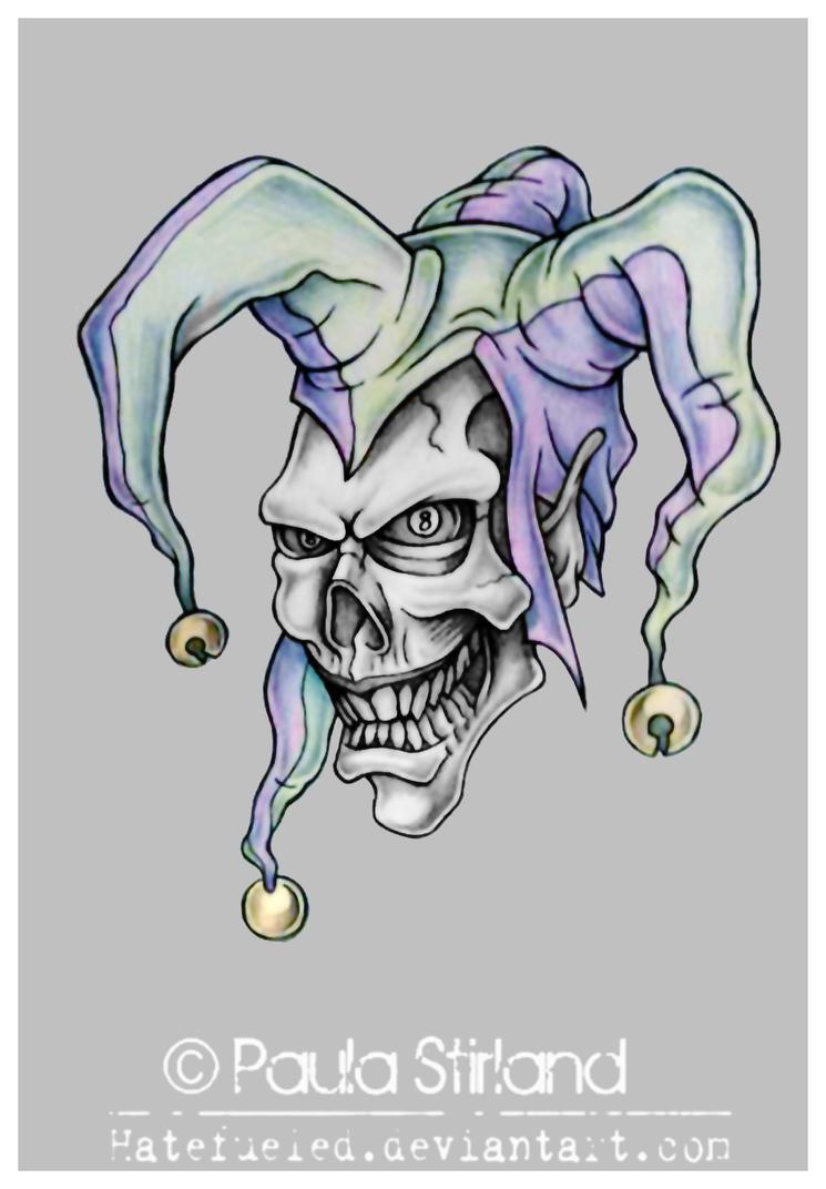 Evil Jester by hatefueled on DeviantArt