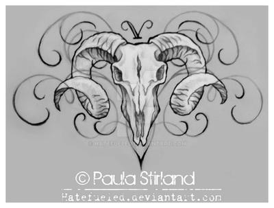 d064addaaa6e8 Aries Skull by hatefueled on DeviantArt