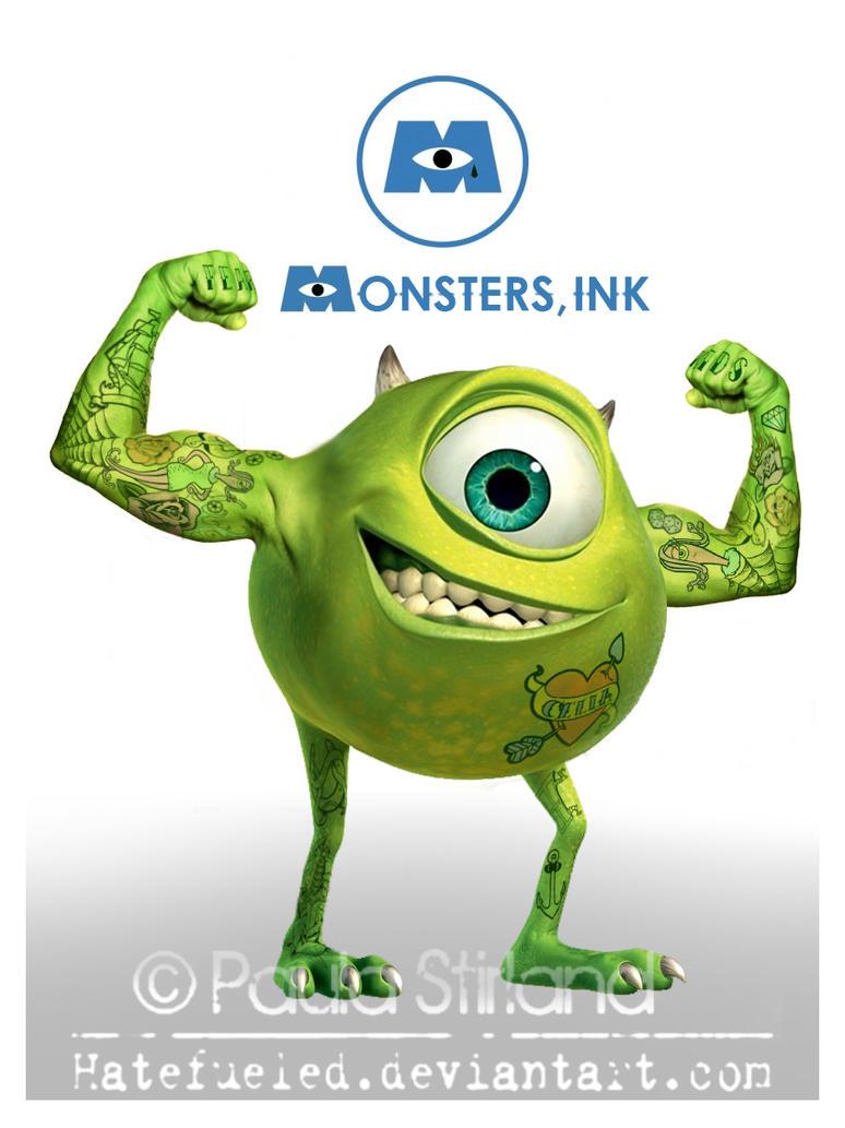 Monsters Ink by hatefueled on DeviantArt
