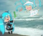 Miku and Squid Girl