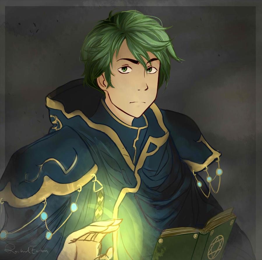 Fire Emblem: Merric by VvibrantcolorsS