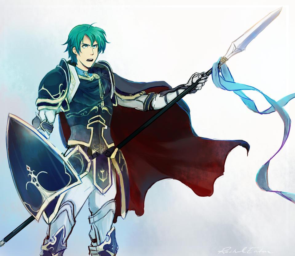 Fire Emblem: Ephraim by VvibrantcolorsS