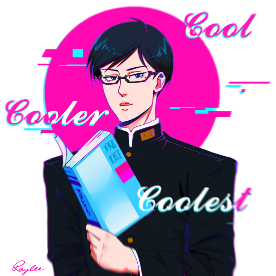 He's the coolest, that Sakamoto by raylee-arts