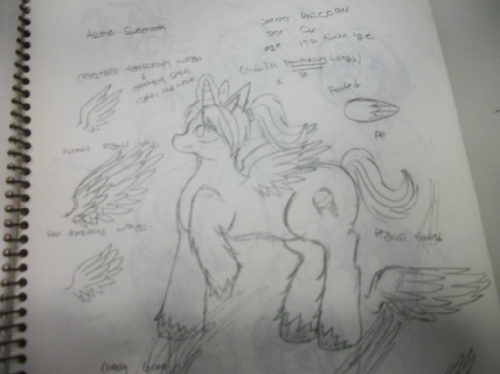 MLP OC/Ascene Sweetooth by LunaticLupine