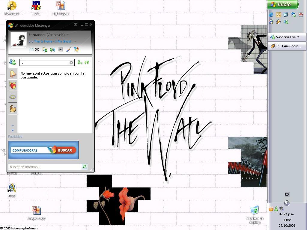 Pink Floyd by kursedkrow
