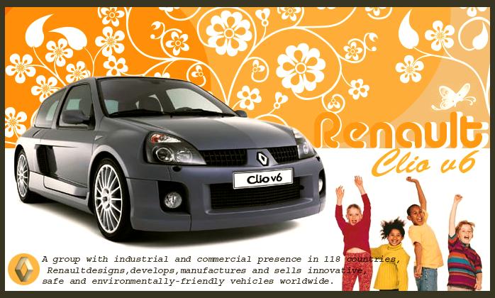 Renault Clio v6 by AMINOVISH