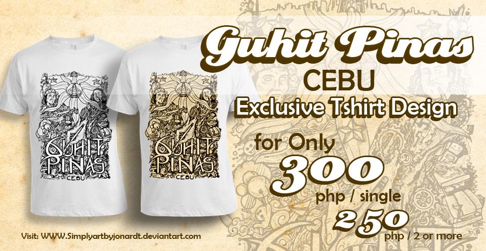 Pina Design gp shirtguhit pinas cebu tshirt design by simplyartbyjonardt on