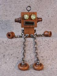 Cliffhanger Robot by Near-Miss-Nic