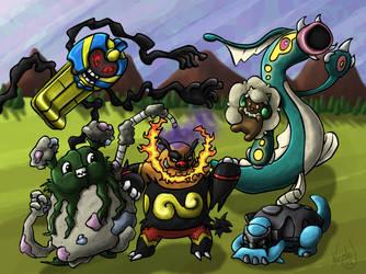 Pokemon Team Snapshot by Near-Miss-Nic