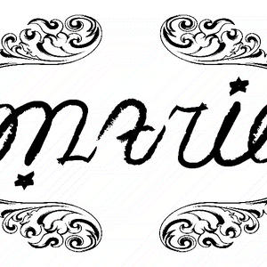 Marie - Ambigram by Marylewis