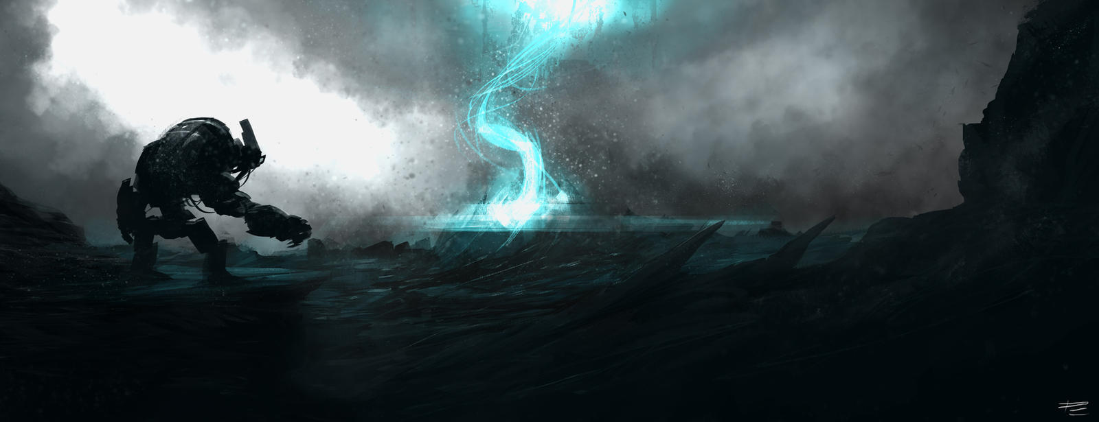 Half Life 2: Episode 2, Citadel Meltdown - Fan Art by Azagth