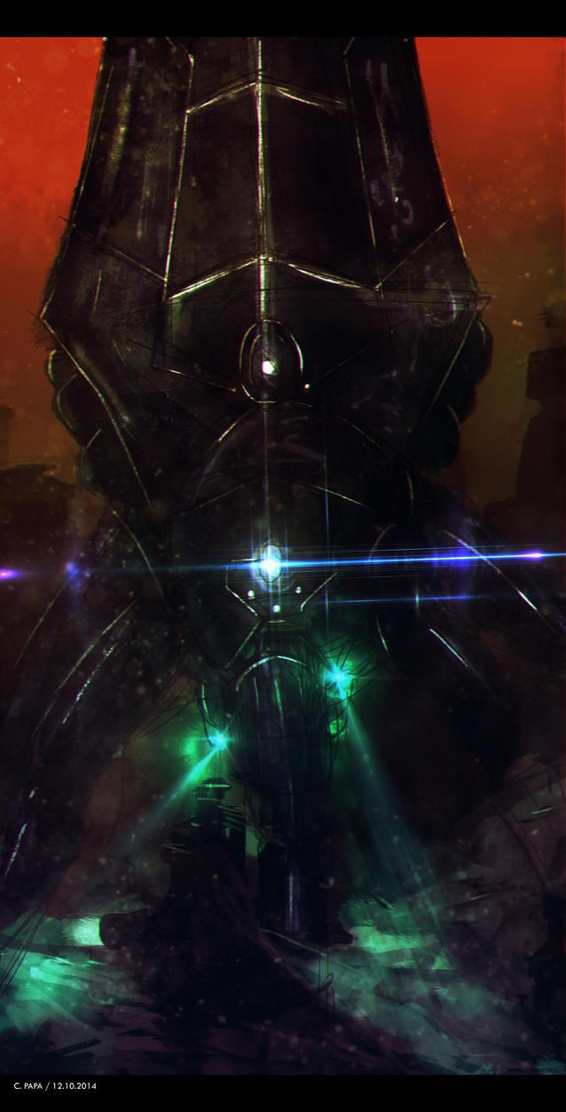 Mass Effect 3 Reaper By Azagth On Deviantart