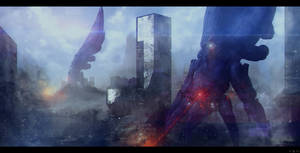 Mass Effect 3 Reapers - Earth