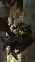 Guild Wars 2 Dragon by Azagth