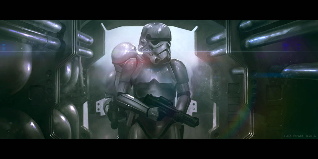 Star Wars Rogue One: After credits scene. by Azagth