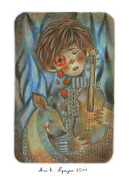 Anemone Tears by maikn