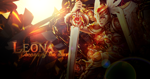 Leona - chosen of the sun by NouoneAnyone