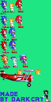 Sonic Mania(ish) Sprites by Smite-the-Pangolin