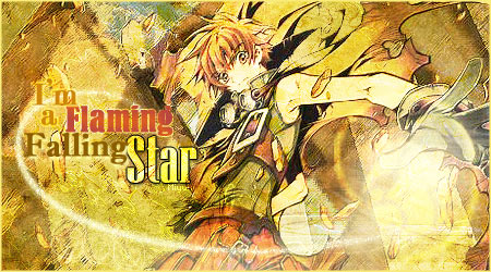 Syaoran Flaming Star by Miyukia