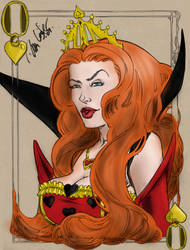 Red Queen Colour by HellionAngel