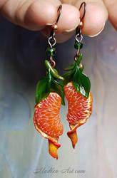 Tangerines earings