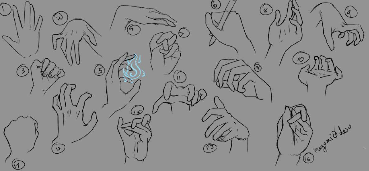 Hand Study :3 by mayumi0desu