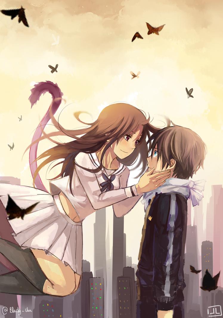 Noragami - I was happy to meet you. by Bludy-chu