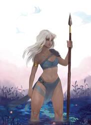 Kida - Atlantis - the Lost Empire by Bludy-chu