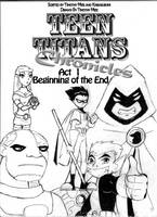 Act 1 Cover Page by TeenTitansChronicles