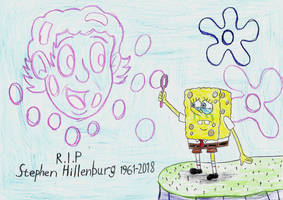 Farewell Stephen Hillenburg 1961 - 2018 by LinePencilArtXX