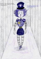 (Art Trade) Guard Duty by LinePencilArtXX