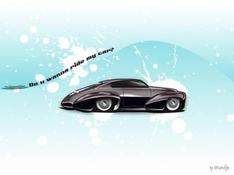 Do u wanna ride my car? by pualanika