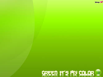 Green it's my color by pualanika