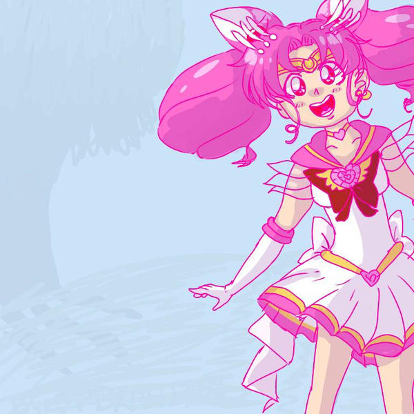Sailor ChibiMoon by chillycreppypasta