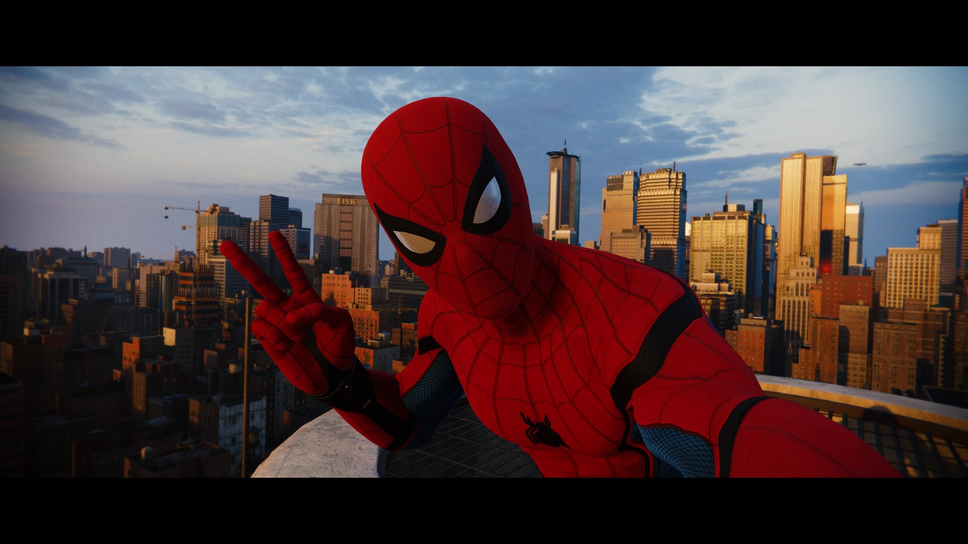 Spider Man Ps4 Spidey Selfie By Thebmz On Deviantart