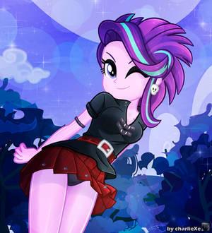 Starlight Glimmer (Punk/Rocker outfit)